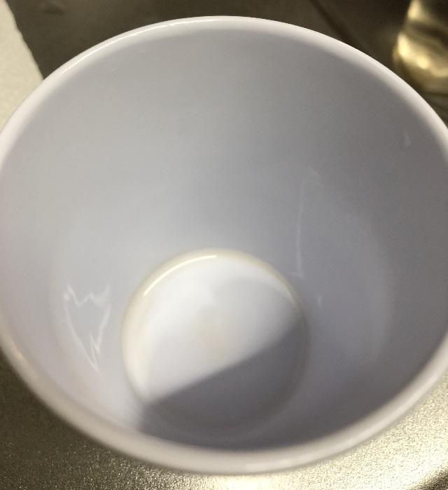 コップの汚れ