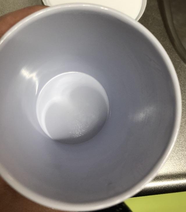 コップの掃除後