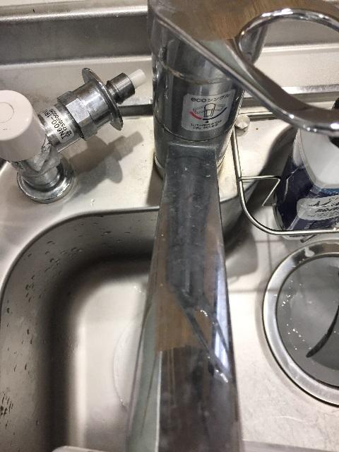 蛇口の汚れ