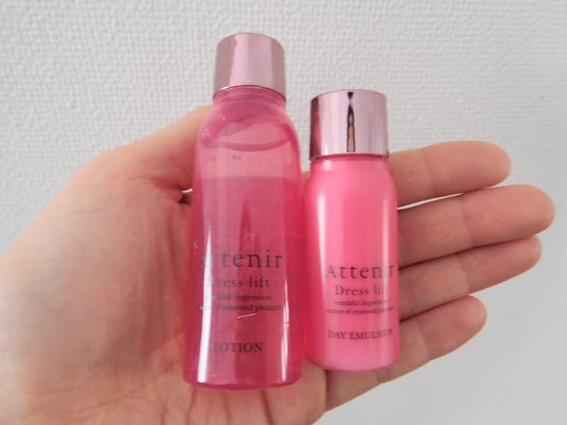 ドレスリフト化粧水・乳液