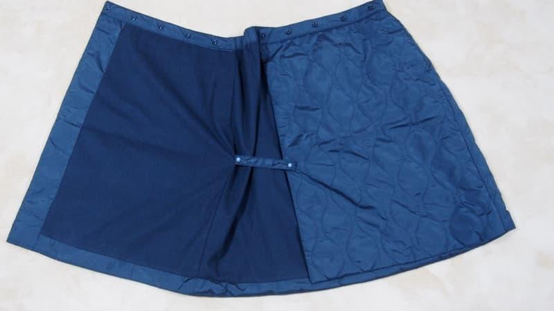 防風ウォームイージーラップスカート